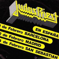Discos de vinilo: JUDAS PRIEST-FREEWHEEL BURNING + BREAKING THE LAW SINGLE VINILO PROMOCIONAL SPAIN. Lote 39170585