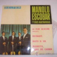 Discos de vinilo: MANOLO ESCOBAR Y SU GUITARRAS. BEÑTER. 1964. Lote 39174509