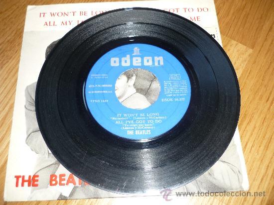 Discos de vinilo: EL DSOE 16577 THE BEATLES IT WONT BE LONG - ALL MY LOVING DONT BOTHER ME ODEON - Foto 2 - 39175038