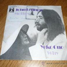 Discos de vinilo: BEATLES JOHN LENNON MOTHER ESPAÑA. Lote 39175569