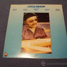 Discos de vinilo: CECIL TAYLOR, FLY! (MPS, 1981) LP FREE JAZZ SOLO PIANO BOSENDORFER. Lote 39179303