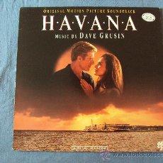 Discos de vinilo: BSO, HAVANA, DAVE GRUSIN (GRP, 1990) LP OST ARTURO SANDOVAL SAL MARQUEZ DON MENZA. Lote 39179386