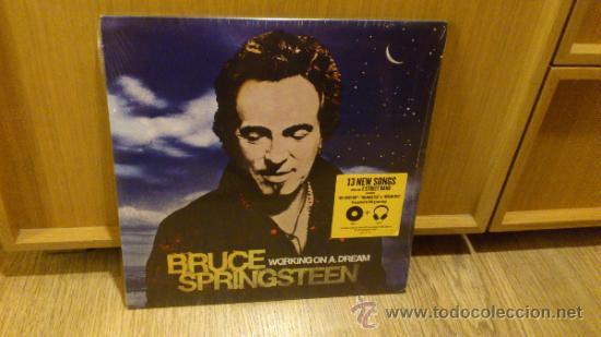 BRUCE SPRINGSTEEN WORKING ON A DREAM 2LP DISCO DE VINILO DOBLE NUEVO SIN ABRIR! (Música - Discos - LP Vinilo - Pop - Rock Extranjero de los 90 a la actualidad)