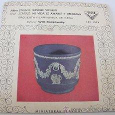 Discos de vinilo: JOHANN STRAUSS - SANGRE VIENESA - EP DECCA 1961 - ORQ. FILARMONICA DE VIENA. Lote 39180367