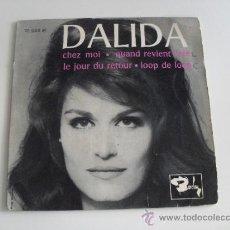 Discos de vinilo: DALIDA - CHEZ MOI + 3 EP MADE IN FRANCE. Lote 39209021