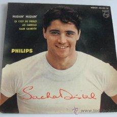 Discos de vinilo: SACHA DISTEL - MADAM MADAM + 3 EP MADE IN FRANCE. Lote 39209063
