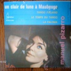 Discos de vinilo: MANUEL PIZARRO Y SU GRAN ORQUESTA - UN CLAIR DE LUNE A MAUBEUGE + 3. Lote 39218061