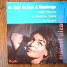 Discos de vinilo: MANUEL PIZARRO ET SON GRAND ORCHESTRE ARGENTIN - UN CLAIR DE LUNE A MAUBEUGE + 3. Lote 39218101