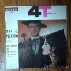 Discos de vinilo: MANUEL PIZARRO ET SON GRAND ORCHESTRE ARGENTIN - SAMBA D´ORPHEE + 3. Lote 39218168