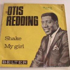 Dischi in vinile: OTIS REDDING - SHAKE / MY GIRL 1966. Lote 39342788