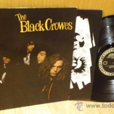 Discos de vinilo: THE BLACK CROWES SHAKE YOUR MONEY MAKER LP DISCO DE VINILO ORIGINAL 1990. Lote 39180696