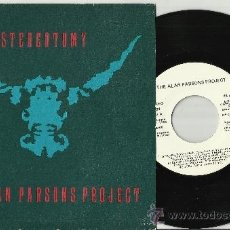 Discos de vinilo: THE ALAN PARSONS PROJECT SINGLE PROMOCIONAL STEREOTOMY ESPAÑA 1986. Lote 39180823