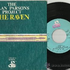 Discos de vinilo: THE ALAN PARSONS PROJECT SINGLE THE RAVEN ESPAÑA 1976. Lote 39180838