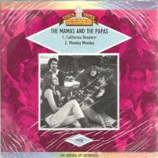 Discos de vinilo: SINGLE THE MAMAS AND THE PAPAS : CALIFORNIA DREAMIN + MONDAY MONDAY . Lote 39183800