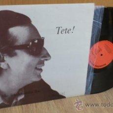 Discos de vinilo: TETE MONTOLIU TRIO LP TETE! DSICO DE VINILO JAZZ RARO! . Lote 39187122