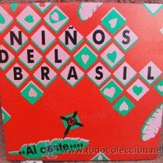 Discos de vinilo: NIÑOS DEL BRASIL -AL OESTE-. Lote 39195823
