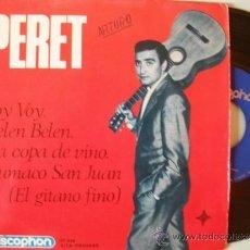 Discos de vinilo: PE SINGLE EP PERET. VOY VOY, BELÉN BELÉN,LA COPA DE VINO,CUMACO SAN JUAN DISCOPHON . Lote 39202031