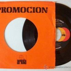 Discos de vinilo: SINGLE PROMOCIONAL ANGELA CARRASCO - MAMMA / QUERERTE A TI - ARIOLA - 1979. Lote 39202188