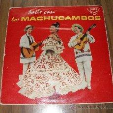 Discos de vinilo: BAILE CON LOS MACHUCAMBOS. Lote 39203561