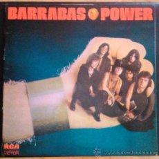 Discos de vinilo: BARRABÁS POWER - LP EDICIÓN ORIGINAL PORTADA ABIERTA. Lote 39223327