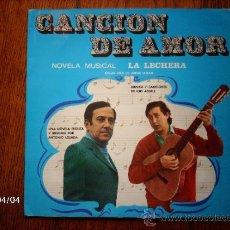 Discos de vinilo: LUIS AGUILE - Mª JESUS AGUIRRE - ALEXANDRA / CANCIÓN DE AMOR - DISCO DE 10 PULGADAS. Lote 39305421