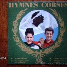 Discos de vinilo: REGINA ET BRUNO - HYMNES CORSES - CORSICA HYMNE + 3. Lote 39312343