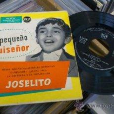 Discos de vinilo: EL PEQUEÑO RUISEÑOR JOSELITO MEDIA GRANAINA ALEGRIAS SERRANAS EP VINILO SINGLE DISCO. Lote 39231542