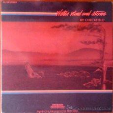 Discos de vinilo: CHECKFIELD, WATER WIND AND STONE - PORTADA ABIERTA - LP DE VINILO. Lote 39235913