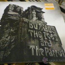 Discos de vinilo: BOMBUS THE POET AND THE PARROT LP DISCO DE VINILO MOTORHEAD METALLICA . Lote 39236036