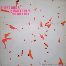 Discos de vinilo: RÉ RECORDS QUARTERLY. VOLUME 1. Nº 3 ( LP + 44 P. MAGAZINE, RÉ RDS. (UK), 1986). Lote 39242420
