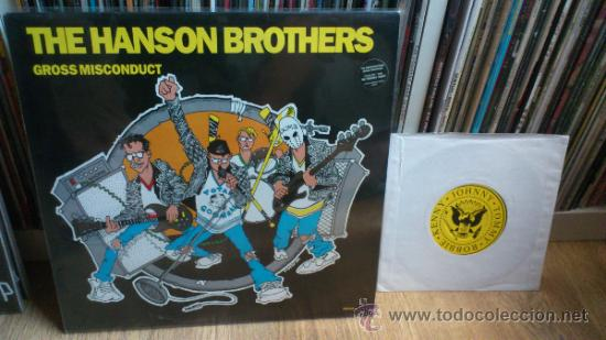 THE HANSON BROTHERS LP + SINGLE VINILOS PUNK SIMILAR A RAMONES THE QUEERS ETC .. (Música - Discos - LP Vinilo - Punk - Hard Core)