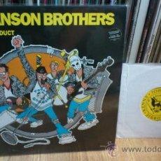 Discos de vinilo: THE HANSON BROTHERS LP + SINGLE VINILOS PUNK SIMILAR A RAMONES THE QUEERS ETC ... Lote 39248697