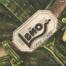 Discos de vinilo: LEÑO: ¡CORRE, CORRE! (SINGLE DE 1982). Lote 39251991