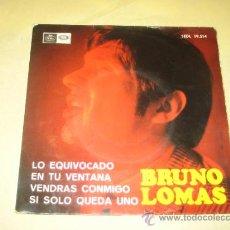 Discos de vinilo: BRUNO LOMAS - 1966. Lote 102551675