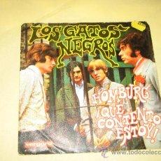 Discos de vinilo: LOS GATOS NEGROS 1967. Lote 39252344