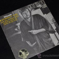 Discos de vinilo: NILSSON WITHOUT YOU SINGLE VINILO 7 . Lote 65786263