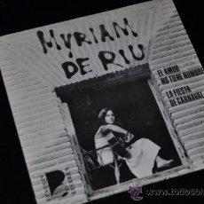 Discos de vinilo: MYRIAM DE RIU SINGLE VINILO 7