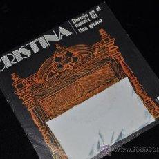 Discos de vinilo: CRISTINA SINGLE VINILO 7