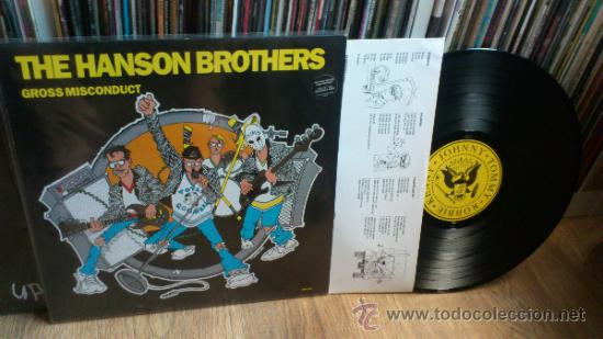 Discos de vinilo: The Hanson brothers lp + single Vinilos Punk Similar a Ramones The queers etc .. - Foto 3 - 39248697