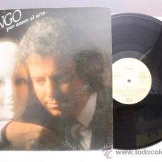 Discos de vinilo: DYANGO - POR EL AMOR AL ARTE - EMI ODEON - 1985 - FABRICADO EN ESPAÑA. Lote 39254815