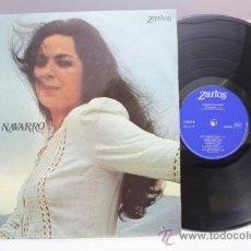 Discos de vinilo: CARMEN NAVARRO - LA VOZ DE LUNA - 1974 - FABRICADO EN ESPAÑA. Lote 39254857