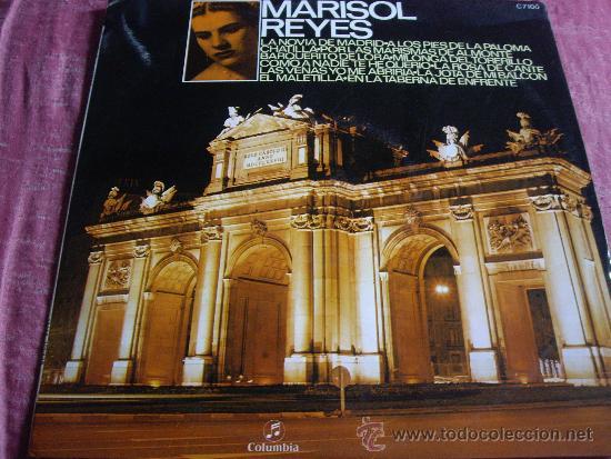 MARISOL REYES-EDICION ORIGINAL 1971-COLUMBIA-EXCELENTE ESTADO (Música - Discos - LP Vinilo - Flamenco, Canción española y Cuplé)