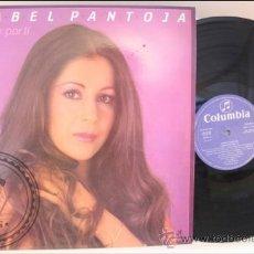 Discos de vinilo: ISABEL PANTOJA - CAMBIAR POR TI - COLUMBIA - 1984 - FABRICADO EN ESPAÑA. Lote 39259655