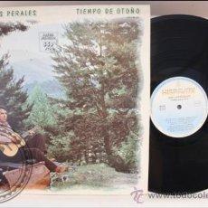 Discos de vinilo: JOSE LUIS PERALES - TIEMPO DE OTOÑO - HISPAVOX - 1983 - FABRICADO EN ESPAÑA . Lote 39261172