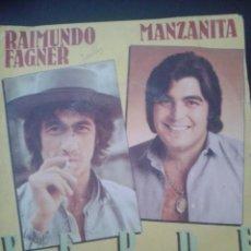 Discos de vinilo: RAIMUNDO FAGNER.MANZANITA.VERDE. Lote 39263584