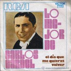 Discos de vinilo - CARLOS GARDEL - EL DIA QUE ME QUIERAS - VOLVER - 39264360