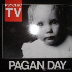 Discos de vinilo: PSYCHIC TV. : A PAGAN DAY (25TH DECEMBER 1986) LP, TEMPLE RDS. (UK), 1986. Lote 39266752