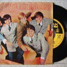 Discos de vinilo: THE FIVE AMERICANS....DISTRITO POSTAL + 1..PEDIDO MINIMO 5€. Lote 39266814