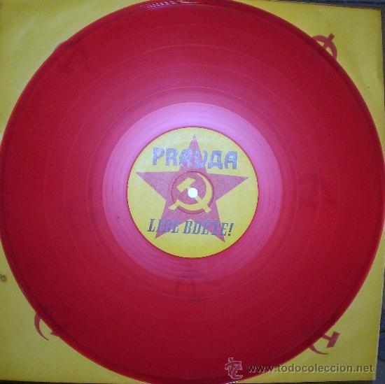 PRAVDA : LIDÉ BDETÉ (LP, ALEXIM RDS. (CHECOSLOVAQUIA), 1991) (Música - Discos - LP Vinilo - Punk - Hard Core)