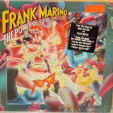 Discos de vinilo: FRANK MARINO - THE POWER OF ROCK AND ROLL U S A - COLUMBIA - 1981. Lote 39343376